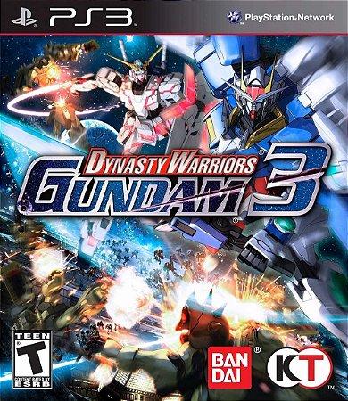 Jogo Dynasty Warriors Gundam 3 - PS3 - Seminovo
