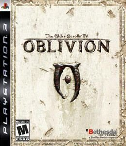 Jogo The Elder Scrolls IV Oblivion - PS3 - Seminovo