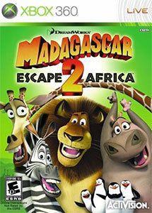Jogo Madagascar Escape 2 Africa - Xbox 360 - Seminovo