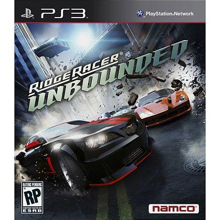 Jogo Ridger Racer Unbounded - PS3 - Seminovo