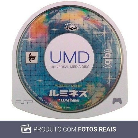 Jogo Lumines Puzzle x Music PSP - Seminovo
