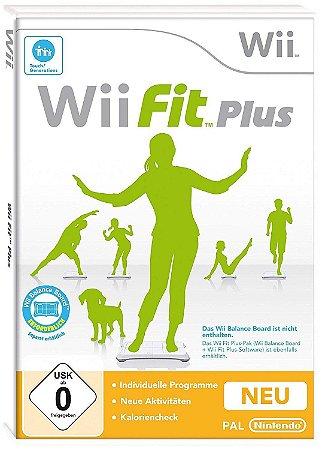 Jogo Wii Fit Plus - Wii - Seminovo