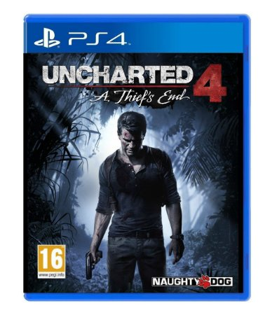 Jogo Uncharted 4 A Thif's End - PS4 - Seminovo