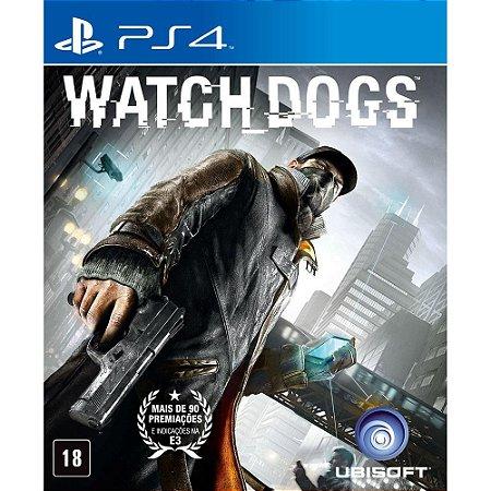 Jogo Watch Dogs Signature Edition - PS4 - Seminovo