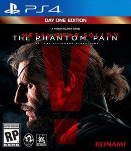 Jogo Metal Gear Solidy V The Phampon Pain Edição de Lançamento - PS4 - Seminovo