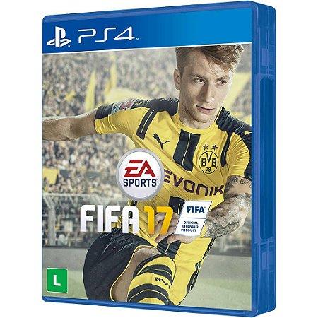 Jogo Fifa 17 - PS4 - Seminovo