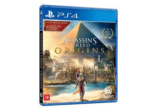 Jogo Assassin's Creed Origins - PS4 - Seminovo