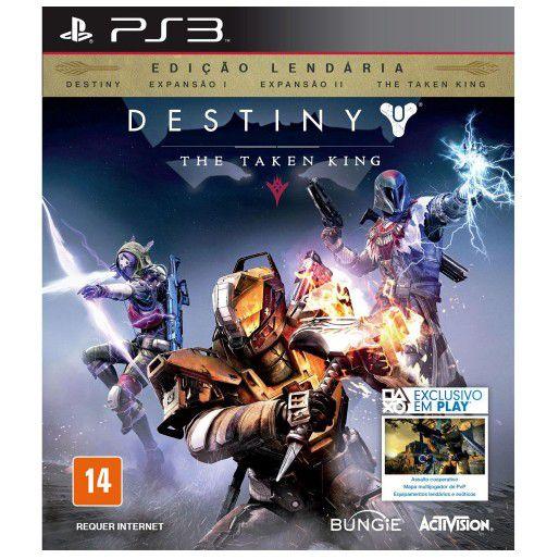 Jogo Destiny The Taken King - PS3 - Seminovo
