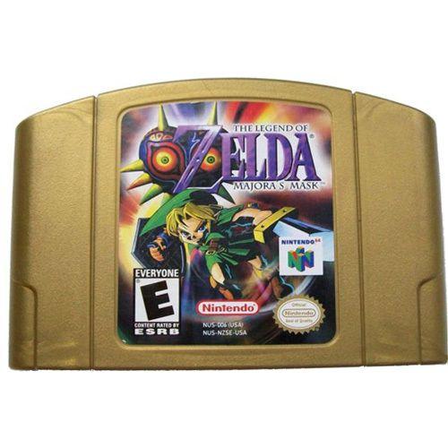 Jogo Zelda Majora's Mask - Nintendo 64 - Seminovo