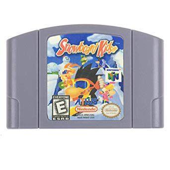 Jogo Snowboard Kids - Nintendo 64 - Seminovo