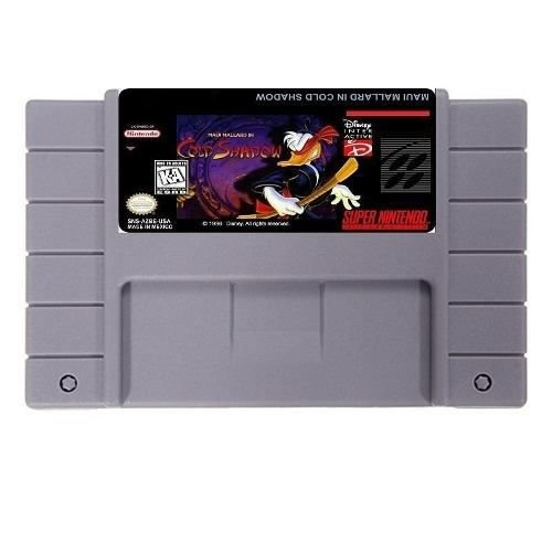 Jogo Miaui Mallard in Cold Shadow - SNES - Seminovo