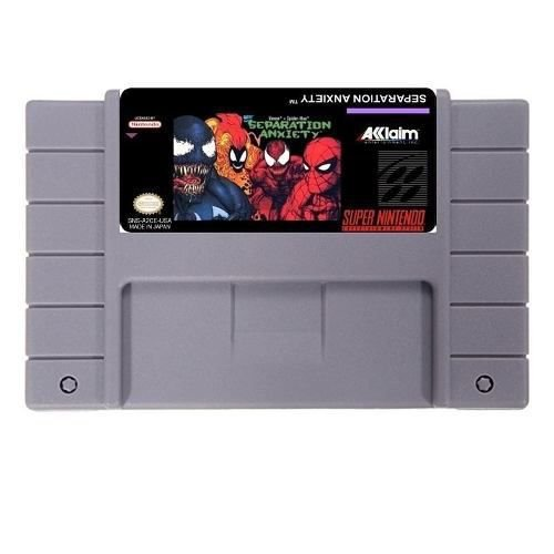 Jogo Separation Anxiety- SNES - Seminovo