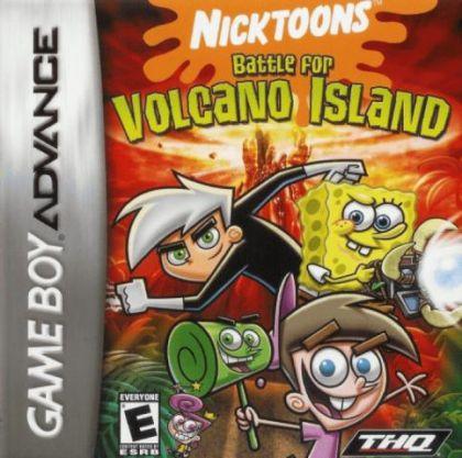 Jogo Nicktoons Battle for Volcano Island - Game Boy Advanced - Seminovo