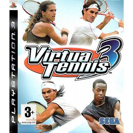 Jogo Virtua Tennis 3 - PS3 - Seminovo