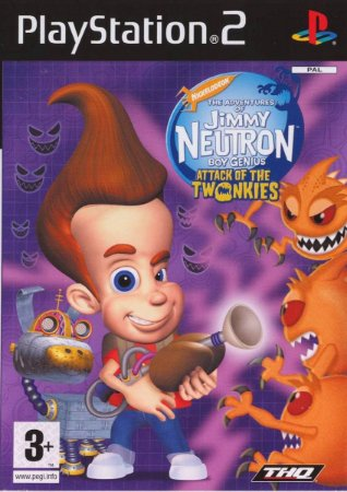 Usado: Jogo The Adventures of Jimmy Neutron - Boy Genius - Attack of The Twonkies - PS2