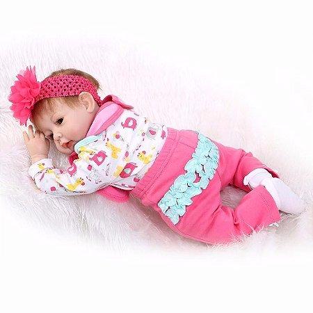 Boneca e Bebe Reborn Carollaine Oferta Especial