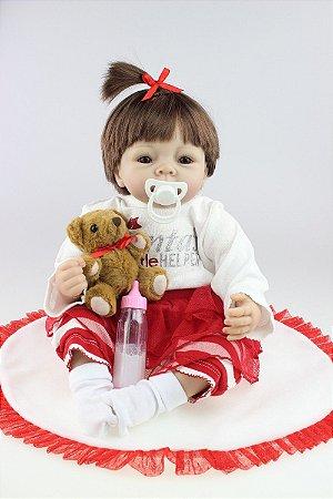 Boneca Bebe Reborn Angel