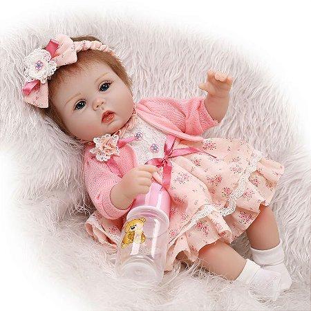 Boneca Bebe Reborn Isabella