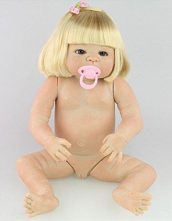 Boneca Bebe Reborn R31 Silicone