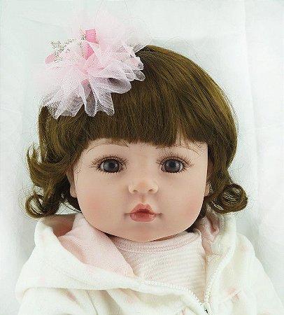 Boneca Bebe Reborn Amanda Pronta Entrega
