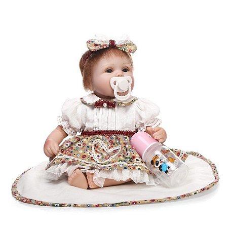 Boneca e Bebe Reborn Aninha