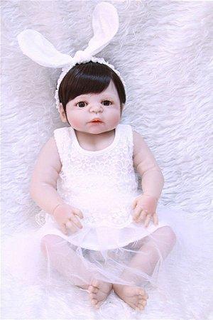 Boneca Reborn Silicone Sandy