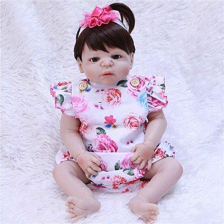 Bebe Reborn Em Silicone Taiza