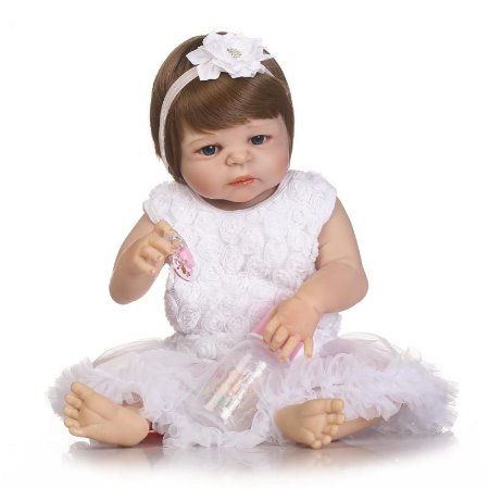 Bebe Reborn Em Silicone Fabi