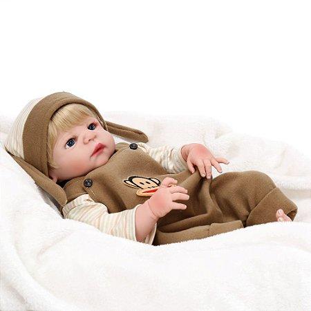 Bebe Reborn Em Silicone Thales