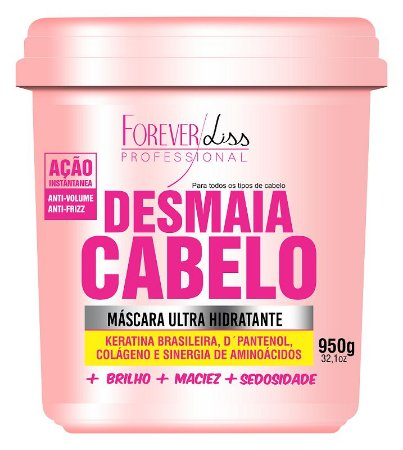 Forever Liss Máscara Desmaia Cabelo 950gr