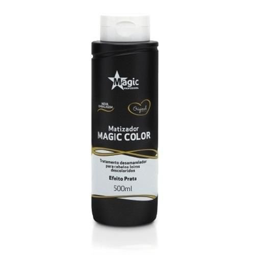 Magic Color Gloss 3d Matizador Platinum Blond Efeito Prata 500 Ml