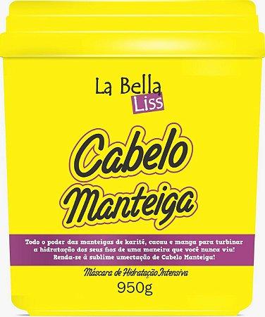 Cabelo Manteiga La Bella Liss Máscara de Hidratação Profunda 950g