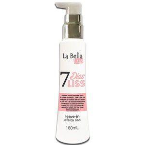 7 Dias Liss Leave-in Efeito Liso 160ml La Bella Liss