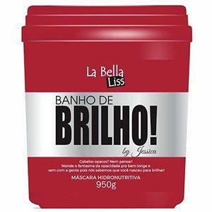 Banho de Brilho Máscara  950G La Bella Liss