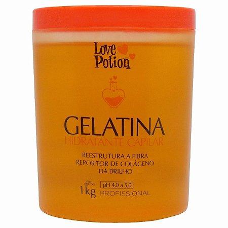 Máscara Hidratante Gelatina Capilar Love Potion 1kg