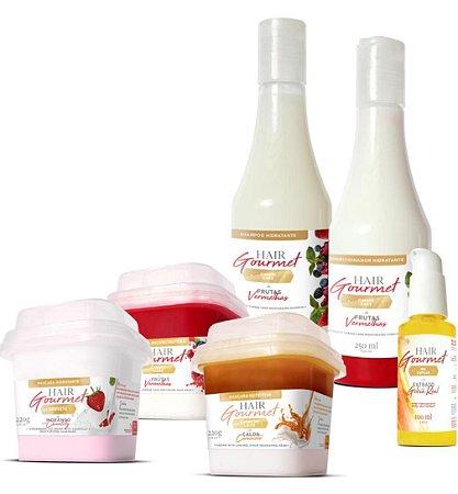Hair Gourmet Cronograma Capilar 6 Itens