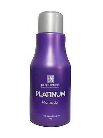 Matizador Platinum Hegelon Liss 300g
