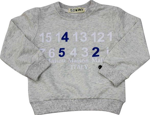 Blusa Infantil Menino Letras