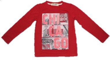 Camiseta Infantil Menino Chicago