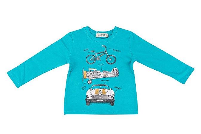Camiseta Infantil Menino Divertida