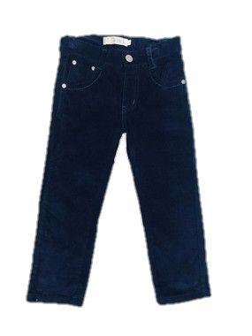 Calça de Veludo Infantil  Menino Kiki