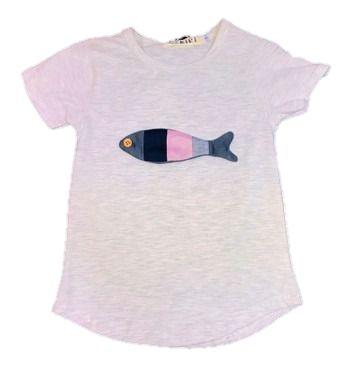 Camiseta Infantil Menino Peixe