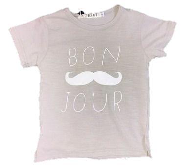 Camiseta Infantil Menino  Bigode