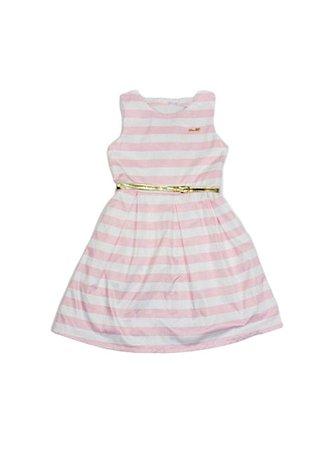 Vestido Infantil Menina Listras
