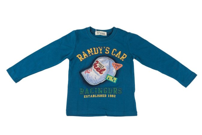 Camiseta Infantil Menino Boné