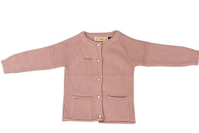 Blusa Infantil Menina em Tricot