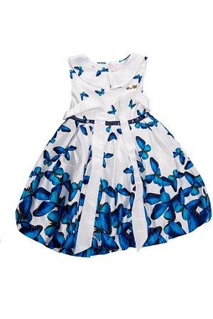 Vestido Infantil Menina Borboleta