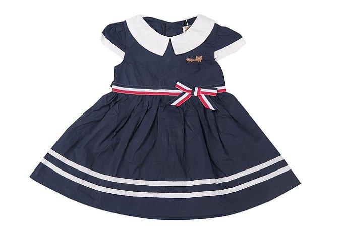 Vestido Infantil Menina Gola Boneca
