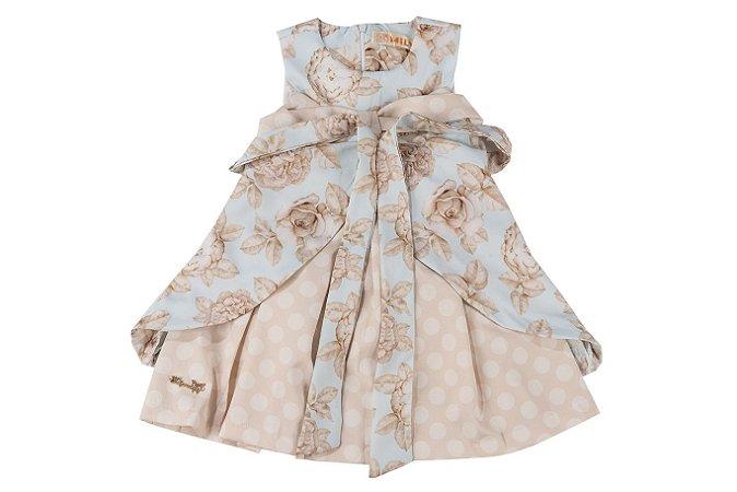 Vestido Infantil Menina Floral
