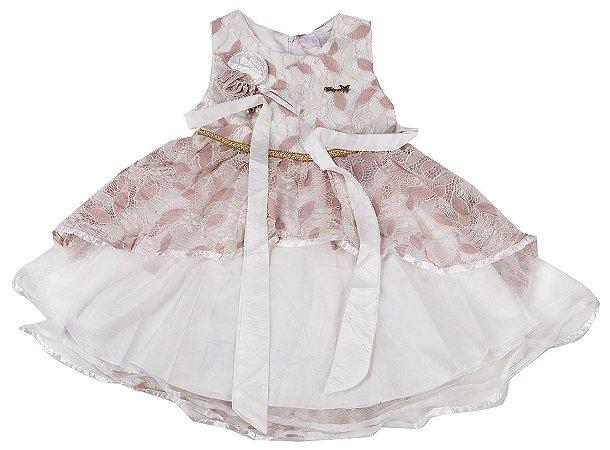 Vestido Infantil Menina Festa